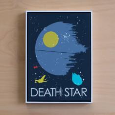 Star Wars theme framed print (various designs)