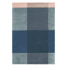 Ted Baker London Plaid Grey Rug