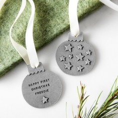 Personalised Starry Sky Bauble