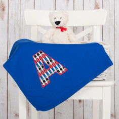 Personalised London Baby Blanket