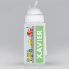 Personalised Small Transport Drink Bottle
