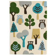 Owl and Tree Rug