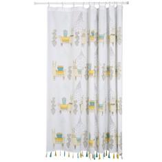 Llamarama Shower Curtain