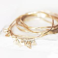 Lexi Personalised Heart Charm Bracelet