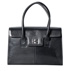 The Fabia Ladies Large Leather Laptop Work Bag