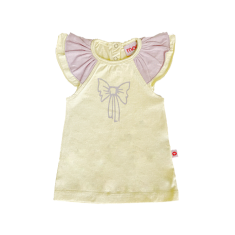 Girls' Bow top