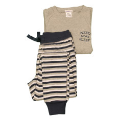 Henry Stripe Boys relaxed longjohn PJ set