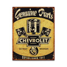 Chevy Parts - Pistons Sign