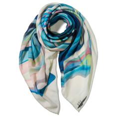 Les Trois Soeurs wool scarf