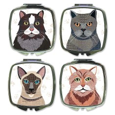 Cat Compact Mirror (9 designs available)