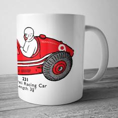 Maserati racing car mug