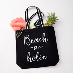 Beach-a-holic Beach Bag