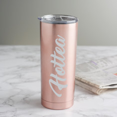 Hottea Rose Gold Travel Cup