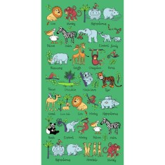 Tyrrell katz Jungle Animals Towel