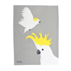 Cockatoo Australian Birds Tea Towel