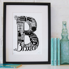Brixton screen print