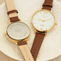 Personalised ladies watch