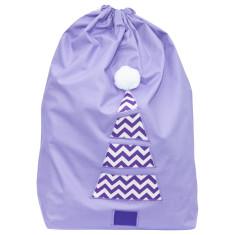 Star Lavender Santa sack