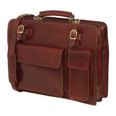 Munich Brown briefcase