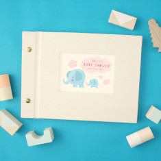 Personalised Baby Shower Mini Photo Album