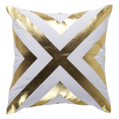 Come Together Gold Indoor Cushion