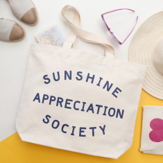 Sunshine Appreciation Society Canvas Bag