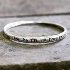 Dream, live the life… bracelet