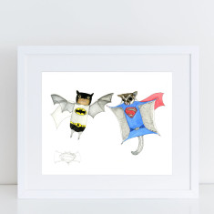 Batman v Superman Limited Edition Fine Art Print