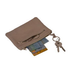 Leather Mini Wallet - purse, wallet, cards and keyring.