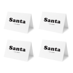 Santa, I can explain - Set of 4 Christmas Cards