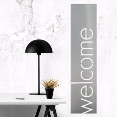 Welcome stainless steel artwork for indoors and outdoors