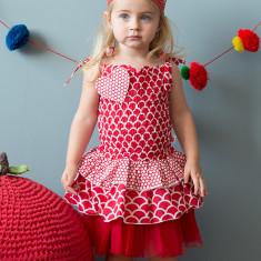 Colette scarlet sunshine dress