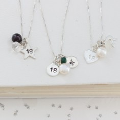 Celebrate 18th Birthday Necklace