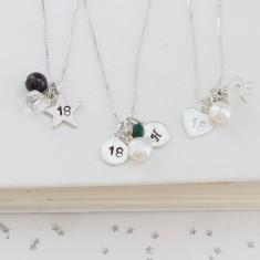 Celebrate 18th Birthday Necklace