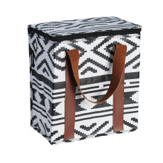 Insulated Cooler bag in Tribal print