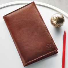 Sestino leather golf card holder