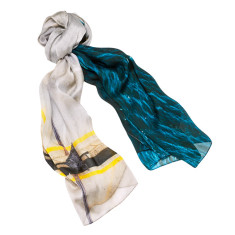 New Yorker silk scarf