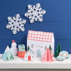 Christmas Advent Village