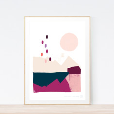 Great Divide Art Print