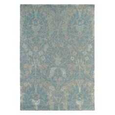 Brink & Campman presents William Morris 'Autumn Flowers' Rug in Eggshell