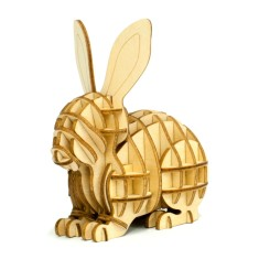 Wooden Puzzle - Rabbit