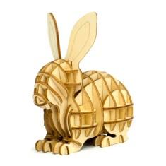 Wooden Puzzle - Rabbit
