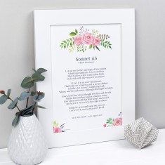 My Words Personalised Print