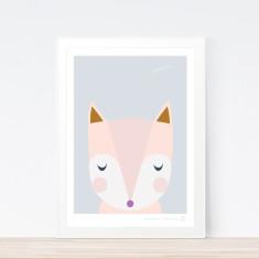 Goodnight Fox art print
