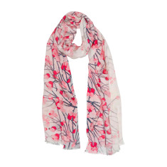 Blossom buds luxe scarf