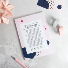 Friend Poem Notebook