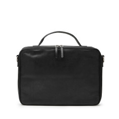 Unisex Leather The Flawless Laptop Bag