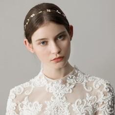 Cute Flower & Pearl Headband