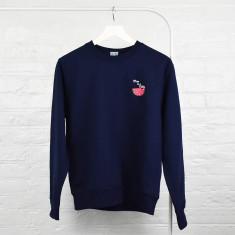 Mum In A Melon Embroidered Ladies Jumper Sweatshirt