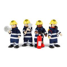 Tidlo toy firefighter set